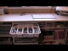 My Chic n Scratch Stamp Room Part One - YouTube
