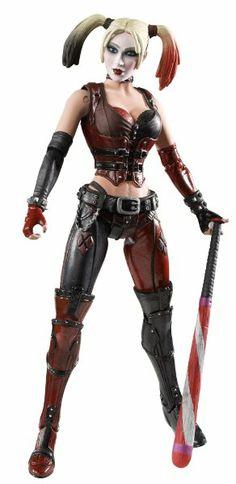 Batman Legacy Harley Quinn Collector Figure:Amazon:Toys & Games.  Gift idea for geek / gamer girls.  Female superhero action figures.  I like Harley Quinn.