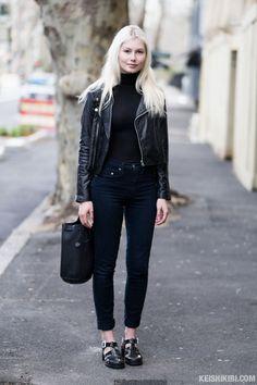 "streetstyleaustralia: ""Street Style: Her 0472. Originally posted on Keishikibi.com   Australian Street Fashion and Street Style """