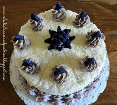 Taking the less traveled road: Ube-Coconut Cake Ube, Pastries, Coconut, Celestial, Cakes, Desserts, Food, Tailgate Desserts, Deserts
