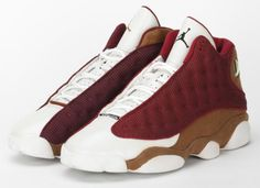 Air Jordan XIII (13) White Desert Clay Team Red | Sample Available on eBay