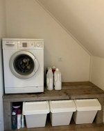 Unterschrank Unterschrank The post Unterschrank appeared fi. Laundry Storage, Laundry Room Organization, Laundry Room Design, Organization Ideas, Attic Inspiration, Attic Rooms, Home Hacks, Bathroom Furniture, Bathroom Interior