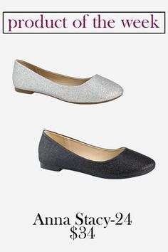Anna Stacy-24 Sparkle Flat // Perfect for bridesmaids