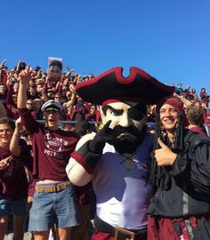 Does your school's mascot need a make-over? Check out the this Masked Marauder mascot make-over, you'll see how great your current mascot could look. Concept Draw, The Marauders, Mascot Costumes, Captain Hat, Photo Galleries, Bring It On, Sports, Action, Meet