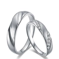 Handmade Diamond Couple Ring Set for Bride and Groom Wedding Band Diamond Jewelry 18K White Gold Engraving Free DHL Shipping     Tag a friend who would love this!     FREE Shipping Worldwide     Buy one here---> http://onlineshopping.fashiongarments.biz/products/handmade-diamond-couple-ring-set-for-bride-and-groom-wedding-band-diamond-jewelry-18k-white-gold-engraving-free-dhl-shipping/