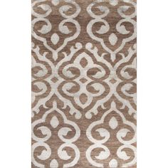 Heritage Collection Arabesque Rug in Nutmeg & Ash by Jaipur