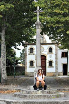 Cruceiro en el #CaminodeSantiago portugués por la costa.