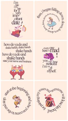 Quotes alice in wonderland cheshire cat mad hatter Alicia Wonderland, Alice And Wonderland Quotes, Alice In Wonderland Tea Party, Adventures In Wonderland, Alice In Wonderland Printables, Alice In Wonderland Artwork, Alice In Wonderland Pictures, Alice In Wonderland Characters, Disney Love