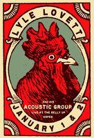 Lyle Lovett Poster - Belly Up, Aspen - Scrojo