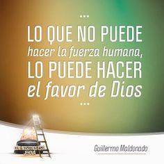 Cree en el favor de Dios para tu vida. #MaratónicaEnlace