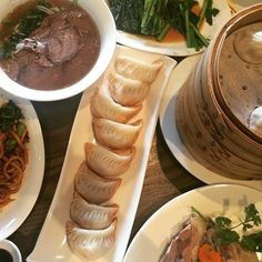 """Where: Various locations.Pay: Less than $10 for 12 dumplings.""""New Shanghai is a great cheap alternative to Din Tai Fung."""" —Aya Bayati, Facebook"""