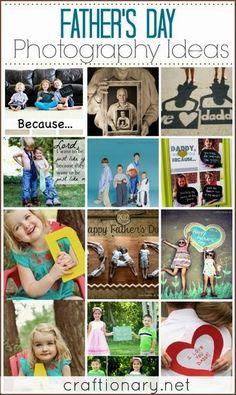 Sugest�es para fotografias do dia do Pai