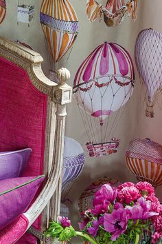 The French fabric house, Manuel Canovas is internationally renowned for the quality of its textiles and vivid colors.