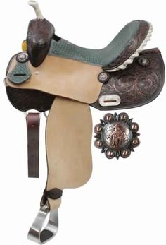 Double T Barrel Saddle with gator seat