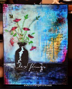 STENCIL MANIA | Shawn Petite (les fleurs2) - simply me