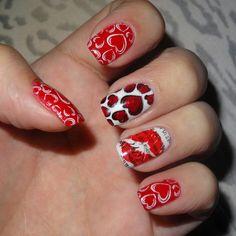 My Valentine nails ^^