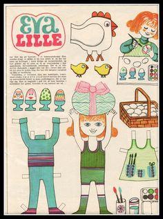 Ingrids Påklædningsdukker: Påske