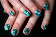 snowflake nail designs - Google Search