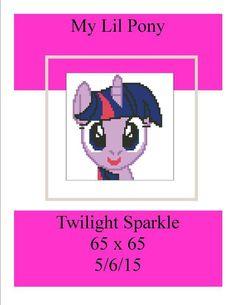(4) Name: 'Crocheting : Twilight Sparkle 65 x 65