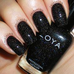 21 Best Black Nail Polish images | Black manicure, Black nail polish ...