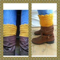 My first pair of boot cuffs :)