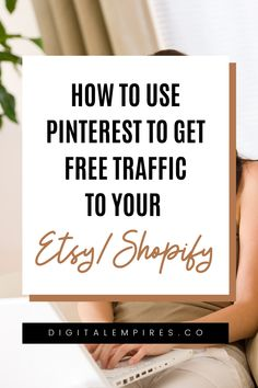 Ever wonder how Pinterest could boost sales for your online store? In this video, learn how you can get more traffic and sales to your Etsy, Shopify, Redbubble or any other ecommerce store for free with Pinterest marketing! Get the latest scoop on what's working on Pinterest marketing right now for ecommerce! #pinterestmarketing #pinterestforbusiness #pinterestecommerce