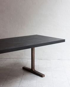 FURNITURE | BRONZE TRESTLE TABLE | BDDW - dining table