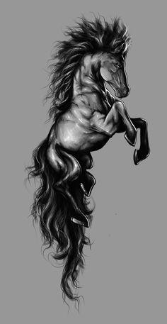 #Horse by Tira-Owl.deviantart.com on @deviantART #Artwork #Art    ::)