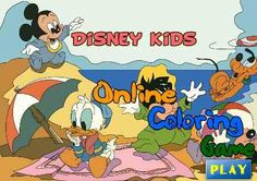 Come for the youngest kids can draw - Online Coloring Disney http://veu.sk/index.php/detske-omalovanky/1082-online-omalovanka-disney.html #come #youngest #kids #draw #online #coloring #disney