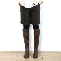 6300 纽扣装饰休闲短裤【3色】
