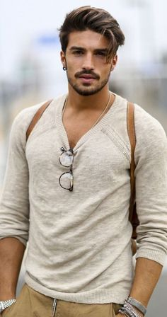 Smart and Cool hairstyles or men with beards (19)