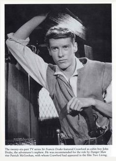 "Michael Crawford in ""Sir Francis Drake""."