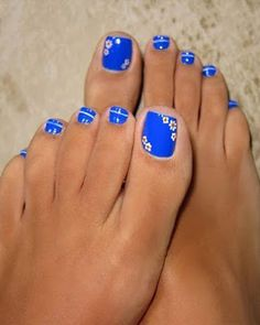 The Fundamentals of Toe Nail Designs Revealed Nail art is a revolution in the area of home services. Nail art is a fundamental portion of a manicure regimen. If you're using any form of nail art on your nails, you… Continue Reading → Pretty Toe Nails, Cute Toe Nails, Pretty Toes, Fancy Nails, Bright Toe Nails, Flower Toe Nails, Pretty Beach, Gorgeous Nails, Toe Nail Color