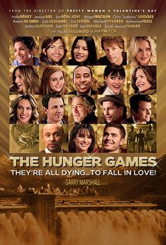 The Hunger Games, Love Actually Style! Ha!