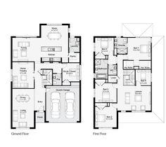 Sheridan 36    Floor Plan - 329.30sqm, 11.90m width, 18.00m depth    Clarendon Homes Floor Plans