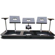 Speaker Monitor Stands Chrome - Pro DJ Furniture Manufacturer SSM | eBay