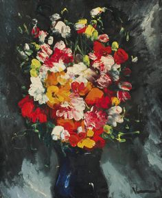 Bouquet of Flowers 08. Maurice de Vlaminck
