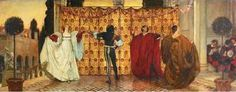 Dance of the Troubadors (a Pavane) ~ by Edwin Austin Abbey (1852-1911) --  [2nd of 4 pins]
