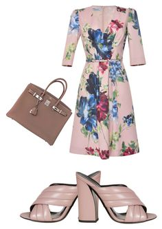 """""""Untitled #296"""" by aayushis on Polyvore featuring Blumarine, Gucci and Hermès"""