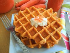 Fruit And Vegetable Juicer, Fruit Juicer, Homemade Waffles, Homemade Sushi, Homemade Veggie Burgers, Pulp Recipe, Spicy Carrots, Healthy Waffles, Healthy Fiber