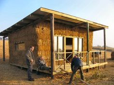 straw bale homes | Welcome to http://www.strawbale-building.co.uk--A strawbale building ...