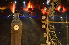 2012 Olympic Games - Closing Ceremony,replica of big BEN 2012 Summer Olympics, Winter Olympics, Taio Cruz, Olympic Games Sports, Go Usa, Pet Shop Boys, Gifts For Photographers, Square Photos, Flash Photography