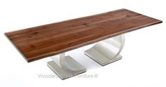 Natural Live Edge Table by Woodland Creek Furniture. Available custom sizes.