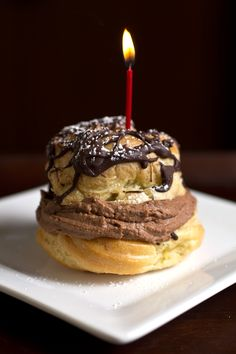 Big & Dreamy, Double Chocolate Cream Puffs, And The Cozy Apron Turns One