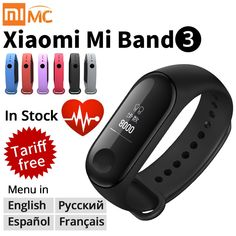 Origina Xiaomi Mi Band 3 Smart Wristband Fitness Bracelet MiBand Band 3 Big Touch Screen OLED Message Heart Rate Time Smartband  Price: 47.99 & FREE Shipping #computers #shopping #electronics #home #garden #LED #mobiles #rc #security #toys #bargain #coolstuff |#headphones #bluetooth #gifts #xmas #happybirthday #fun