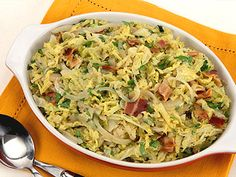 10 kid-friendly Thanksgiving side dishes - Braised Cabbage with Bacon and Onions