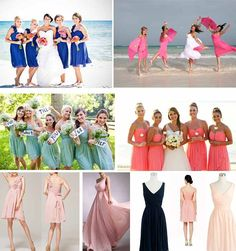 bridemaid dresses uk for beach wedding