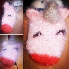 Licorne faite au crochet avec de la laine Bubble 🦄