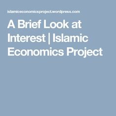 Economic Analysis Of Zakat System  Projects Islamic And Economics