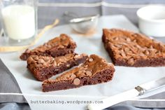 Fudgy Chocolate Chip Brownies